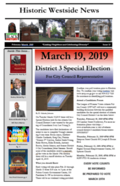 Historic Westside News Feb/March 2019 Issue 13 – Historic