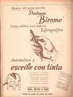 Advertentie voor de balpen van de Hongaar