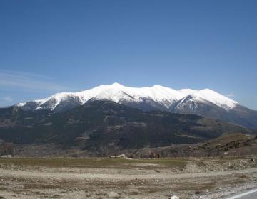 De Olympus, de hoogste berg van Griekenland