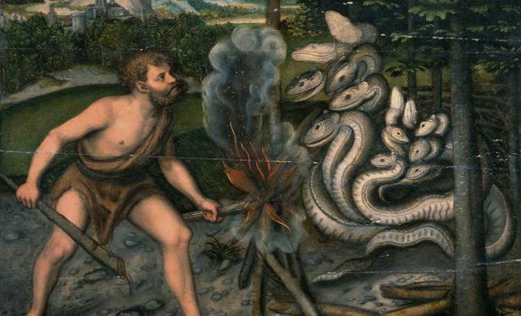 Hercules en Hydra (Atelier Lucas Cranach de Oude)