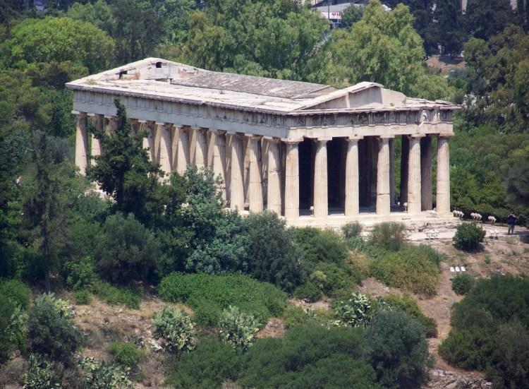 Tempel van Hephaistos in Athene - cc