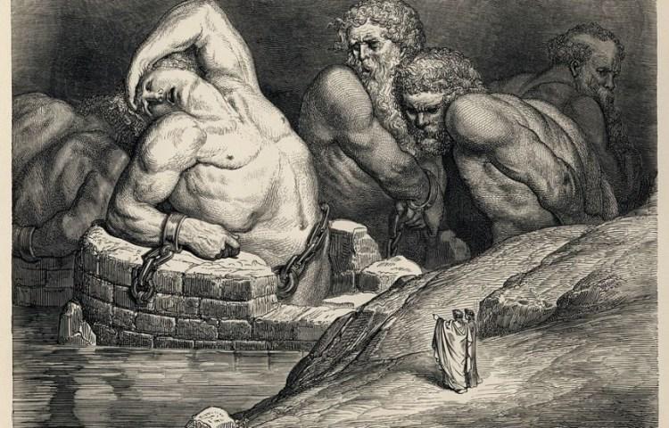 Titanen en reuzen, Gustave Doré, 1857