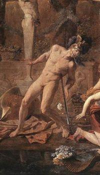 Zelfmoord van Ajax - Nicolas Poussin