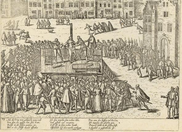 Executie van Balthasar Gerards