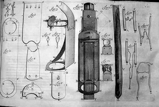 Microscopen van Antoni van Leeuwenhoek
