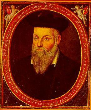 Nostradamus: origineel portret door zijn zoon César