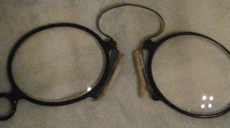 Oude bril - cc