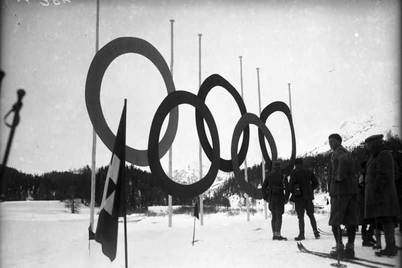 Olympische Winterspelen van 1928 in Sankt Moritz