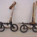Ouderwetse rolschaats - cc