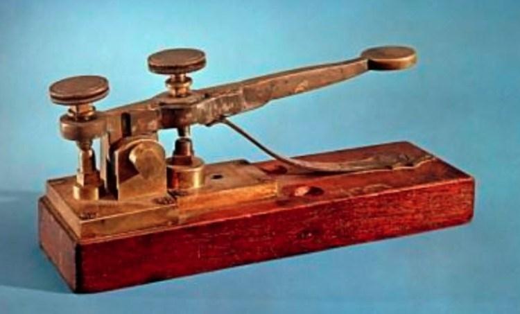 Telegraaf voor de morsecode