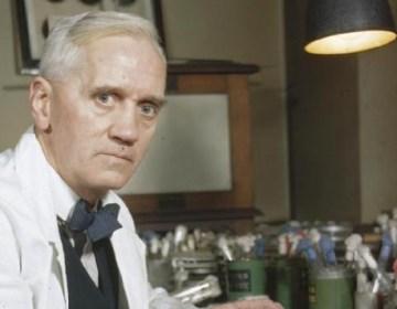 Uitvinder van de penicilline Alexander Fleming
