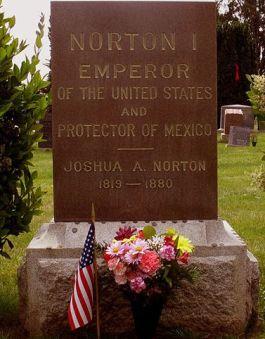 Het graf van Joshua Norton