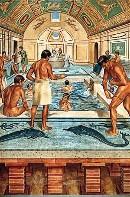 Het badhuis had ook een sterke sociale functie