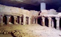 Het badhuis in Tolbiacum, de Romeinse naam voor Zülpich