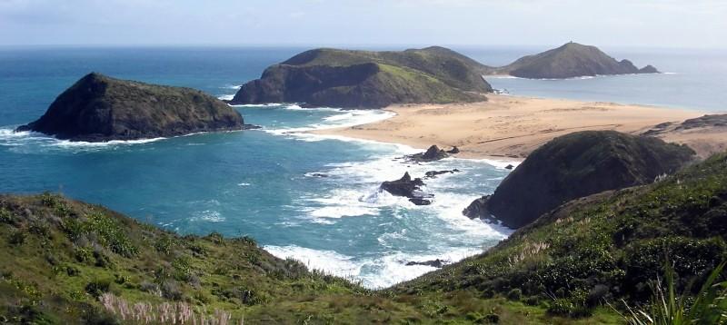 Kaap Maria van Diemen op het Noordereiland / cc