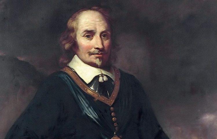Maarten Tromp, afgebeeld met het ordeteken van de Orde van de Heilige Michaël