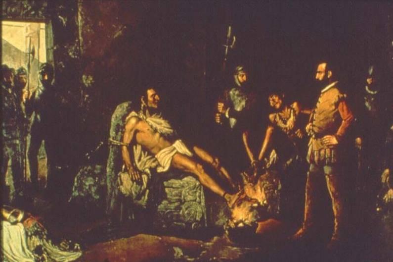 Foltering van Cuauhtemoc