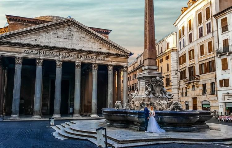 Het Pantheon in Rome (cc - Pixabay - kirkandmimi)