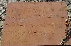De inscriptie ter nagedachtenis aan Leonidas