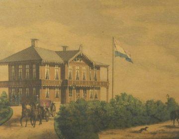 Het Aardhuis in de 19e eeuw (Publiek Domein - wiki)