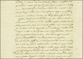 'Sailing Letter'