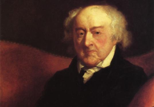 John Adams op 88-jarige leeftijd