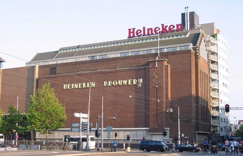 Voormalige Heineken-brouwerij aan de Stadhouderskade in Amsterdam - cc
