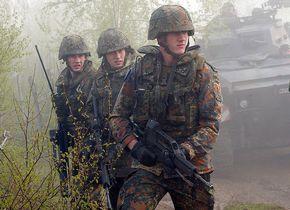 Duitse militairen van de Bundeswehr tijdens een missie in Bosnië