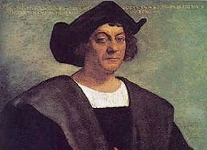 Portret van Columbus uit ca. 1520