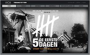 De website www.wo2online.nl