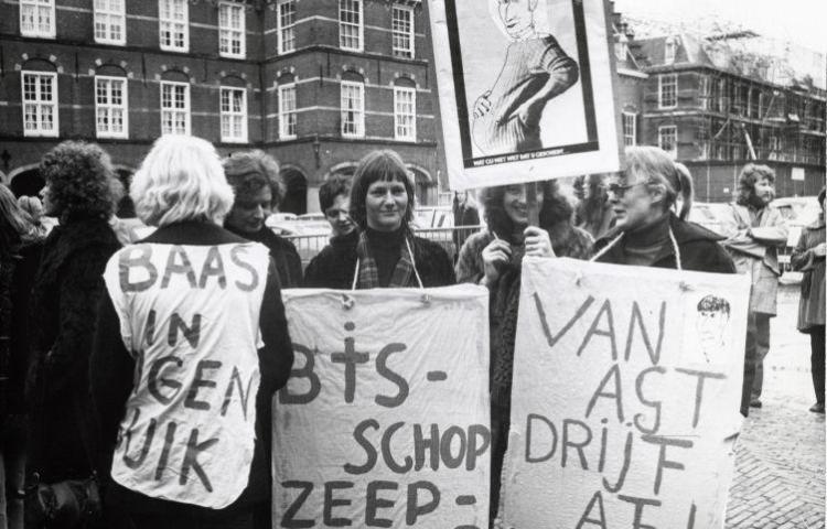Pro-abortus demonstratie (cc - Anefo - Spaarnestad)