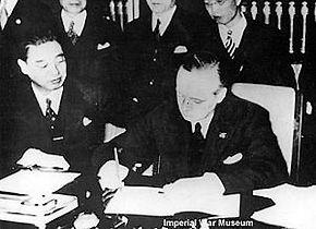 Ondertekening van het Anti-Kominternpact