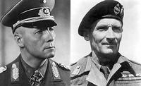 Erwin Rommel en Bernard Law Montgomery