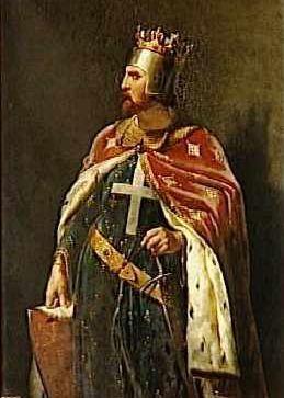 Richard I Leeuwenhart (Schilderij van Merry-Joseph Blondel, 1841)