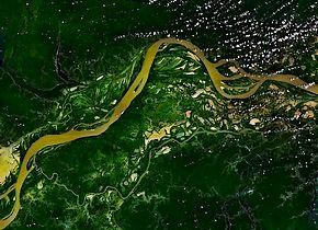Amazonerivier (Foto: NASA)