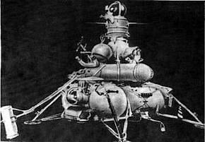 Onbemand ruimtevaartuig uit het Russische Luna-programma
