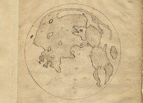 De maankaarten van Thomas Harriot - Afb: SML