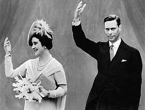 George VI en Elizabeth