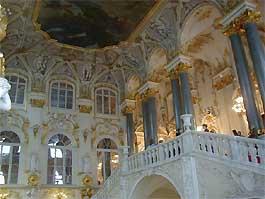 Hermitage in Sint Petersburg