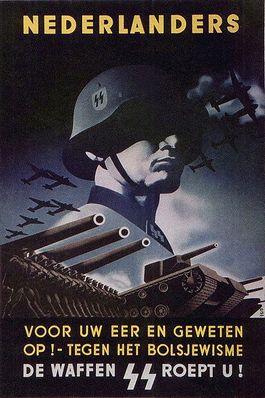 Wervingsposter van de SS