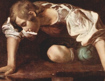 Narcissus – Caravaggio, ca. 1594-1596