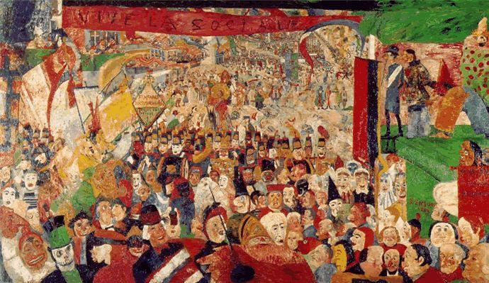 Schilderij James Ensor terug in Stedelijk Museum