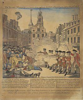 Bloedbad van Boston, 1770
