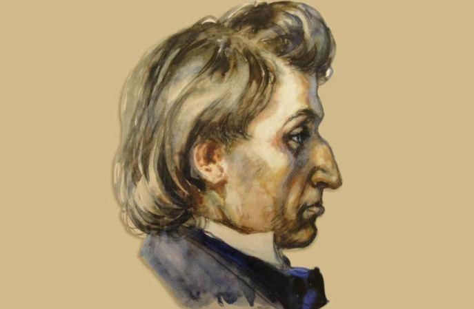 Het portret van Chopin - Mieczyslaw Koscielniak, 1943