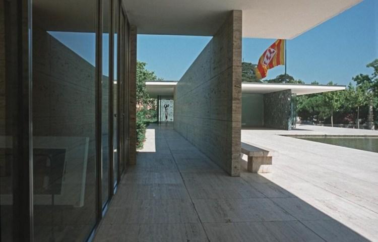 Barcelona - Duits paviljoen (1929, herbouw uit 1999) - Ludwig Mies van der Rohe