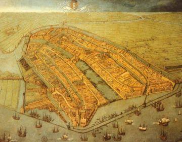 Amsterdam in 1538 – Cornelis Anthoniszoon