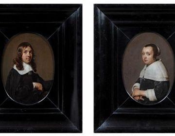 De twee pendant portretten van Jan de Bray – Fondation Custodia, Collection Frits Lugt, Paris