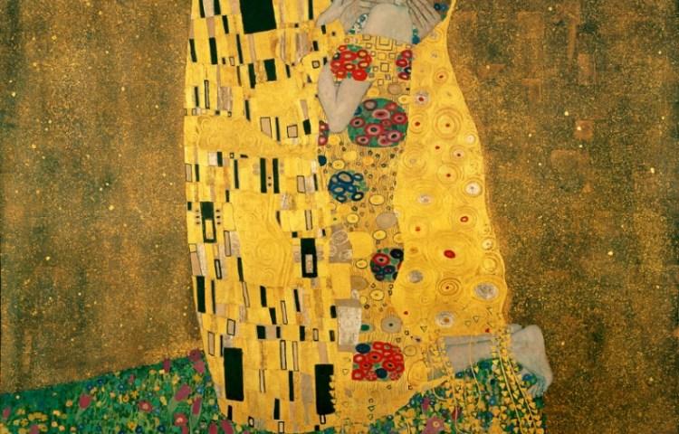 'De Kus' van Gustav Klimt