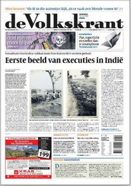 In 2012 gevonden foto's van executies in Nederlands-Indië
