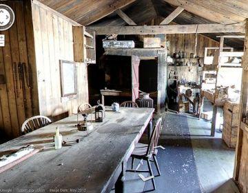 De hut van Robert Falcon Scott